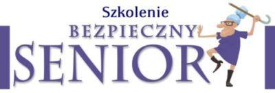 """Szkolenie seniorów 55+ w Gminie Iwonicz-Zdrój """"Bezpieczny Senior"""""""