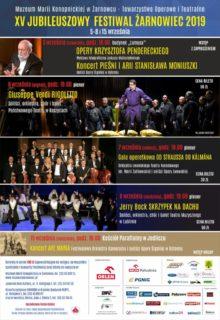 Zaproszenie na Jubileuszowy XV Festiwal do Żarnowca 6-8 września 2019 r.